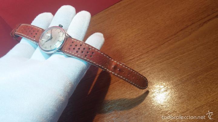 Relojes automáticos: Primer reloj Cyma Automático, shock Absorber-cal. R420 martillo, C-1948, Nºbajísimo 152656 - Foto 77 - 57121634