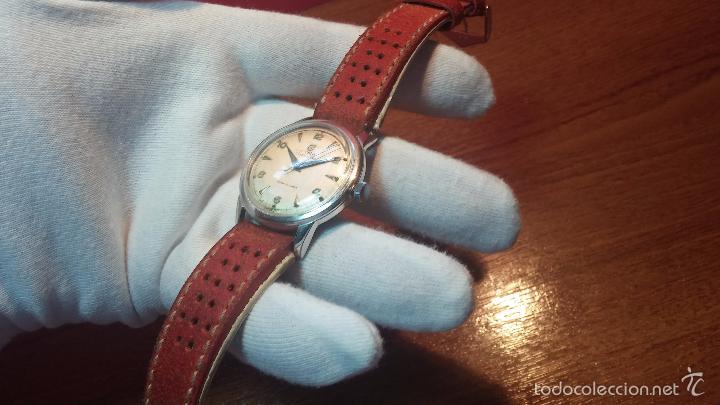 Relojes automáticos: Primer reloj Cyma Automático, shock Absorber-cal. R420 martillo, C-1948, Nºbajísimo 152656 - Foto 78 - 57121634