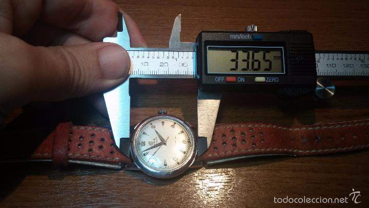 Relojes automáticos: Primer reloj Cyma Automático, shock Absorber-cal. R420 martillo, C-1948, Nºbajísimo 152656 - Foto 81 - 57121634