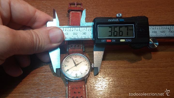 Relojes automáticos: Primer reloj Cyma Automático, shock Absorber-cal. R420 martillo, C-1948, Nºbajísimo 152656 - Foto 82 - 57121634