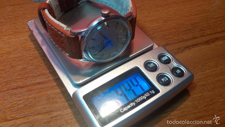 Relojes automáticos: Primer reloj Cyma Automático, shock Absorber-cal. R420 martillo, C-1948, Nºbajísimo 152656 - Foto 86 - 57121634
