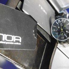 Relojes automáticos: DISEÑO ALTA GAMA RELOJ PULSERA NOA COMO NUEVO CAJA Y PAPELES DOBLE CORREA. Lote 57323447