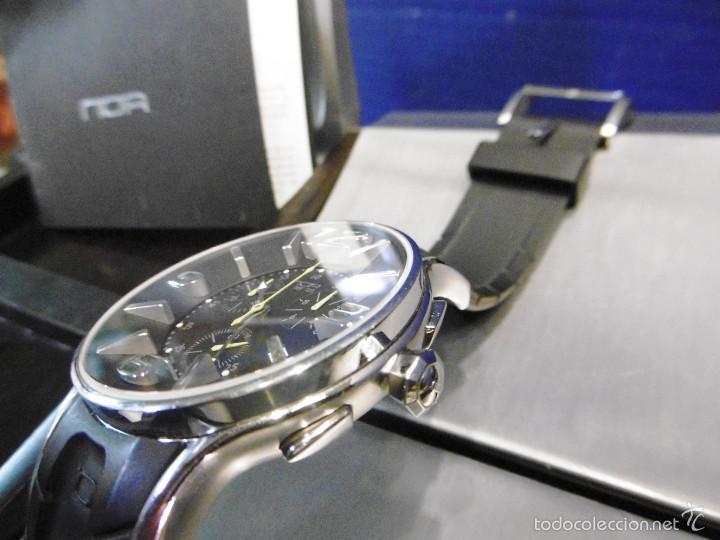 Relojes automáticos: DISEÑO ALTA GAMA RELOJ PULSERA NOA COMO NUEVO CAJA Y PAPELES DOBLE CORREA - Foto 5 - 57323447