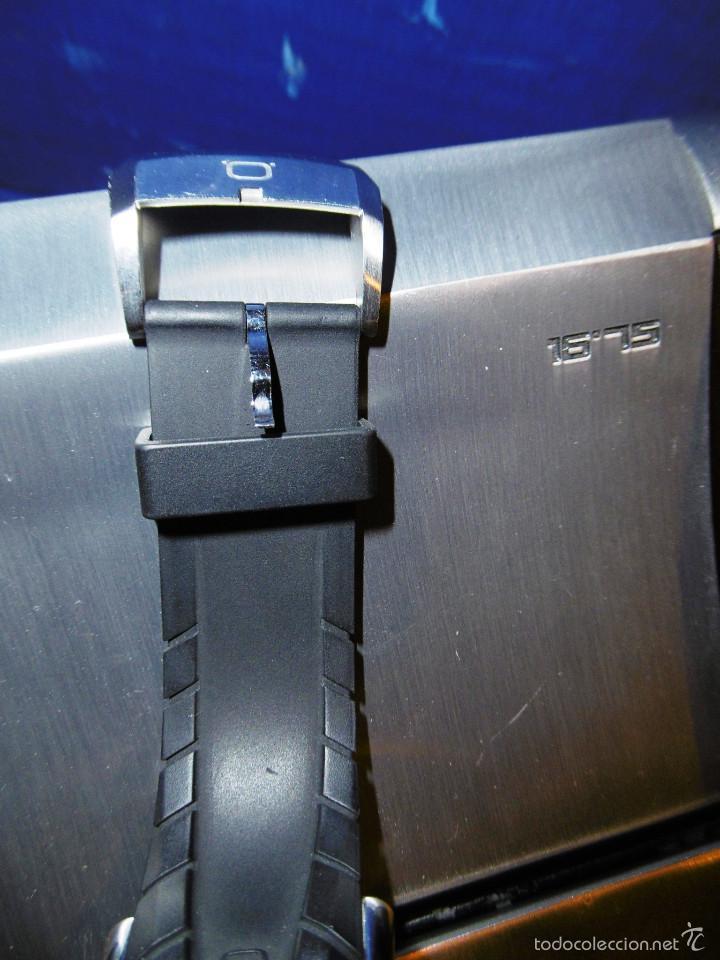 Relojes automáticos: DISEÑO ALTA GAMA RELOJ PULSERA NOA COMO NUEVO CAJA Y PAPELES DOBLE CORREA - Foto 6 - 57323447