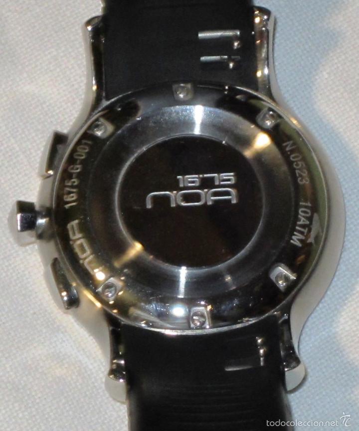 Relojes automáticos: DISEÑO ALTA GAMA RELOJ PULSERA NOA COMO NUEVO CAJA Y PAPELES DOBLE CORREA - Foto 14 - 57323447