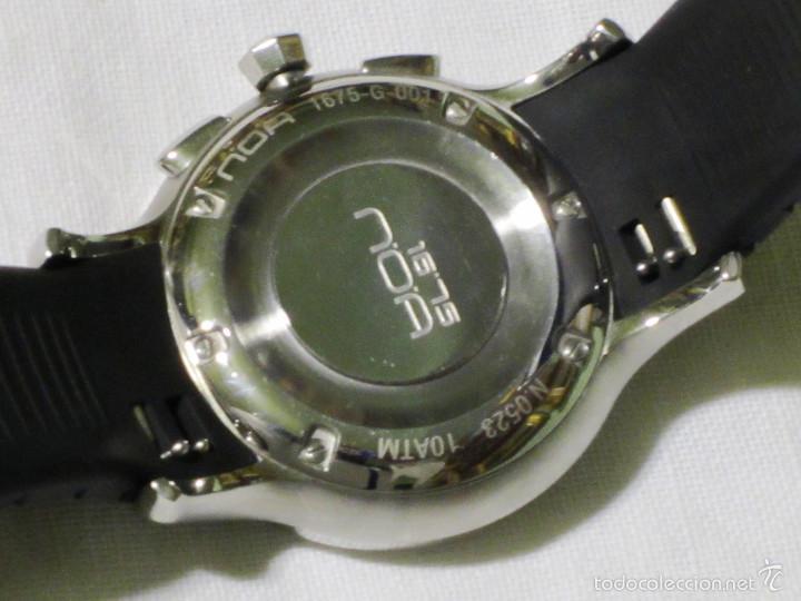 Relojes automáticos: DISEÑO ALTA GAMA RELOJ PULSERA NOA COMO NUEVO CAJA Y PAPELES DOBLE CORREA - Foto 15 - 57323447