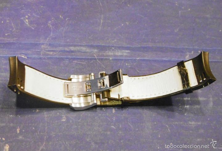 Relojes automáticos: DISEÑO ALTA GAMA RELOJ PULSERA NOA COMO NUEVO CAJA Y PAPELES DOBLE CORREA - Foto 25 - 57323447