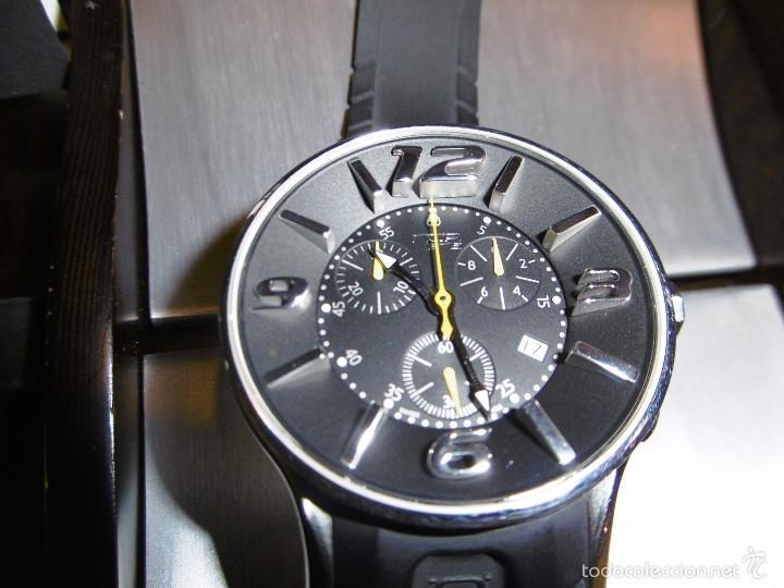 Relojes automáticos: DISEÑO ALTA GAMA RELOJ PULSERA NOA COMO NUEVO CAJA Y PAPELES DOBLE CORREA - Foto 32 - 57323447