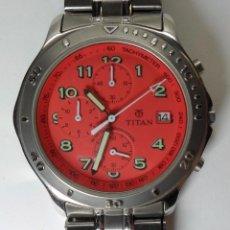 Relojes automáticos: RELOJ TITAN DE CUARZO - MODELO NUMERADO - CRONÓGRAFO - TAQUÍMETRO. Lote 57541649