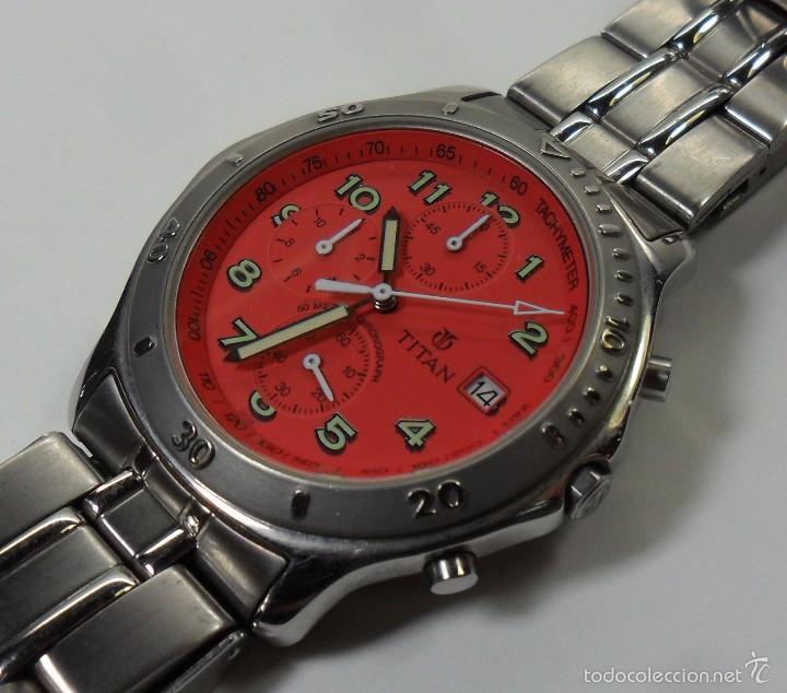 Relojes automáticos: Reloj TITAN de cuarzo - Modelo numerado - Cronógrafo - Taquímetro - Foto 2 - 57541649