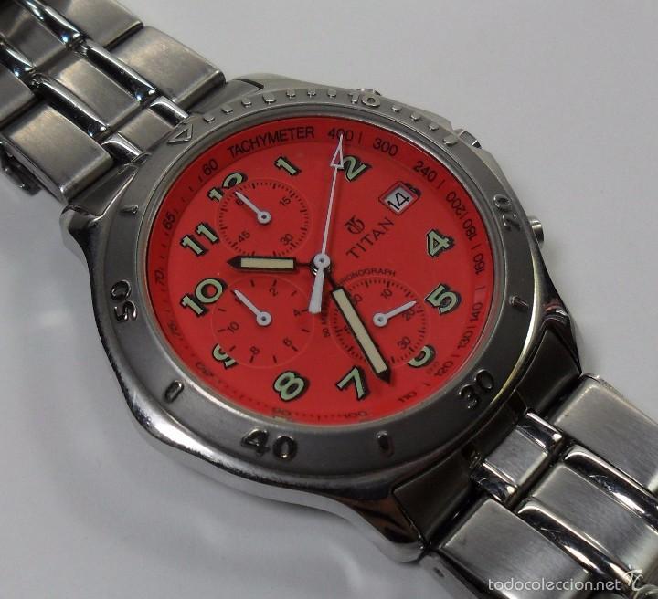 Relojes automáticos: Reloj TITAN de cuarzo - Modelo numerado - Cronógrafo - Taquímetro - Foto 3 - 57541649