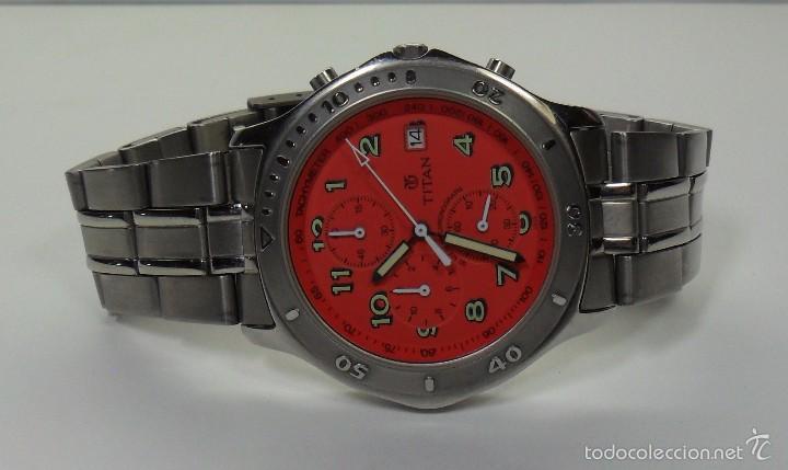 Relojes automáticos: Reloj TITAN de cuarzo - Modelo numerado - Cronógrafo - Taquímetro - Foto 4 - 57541649