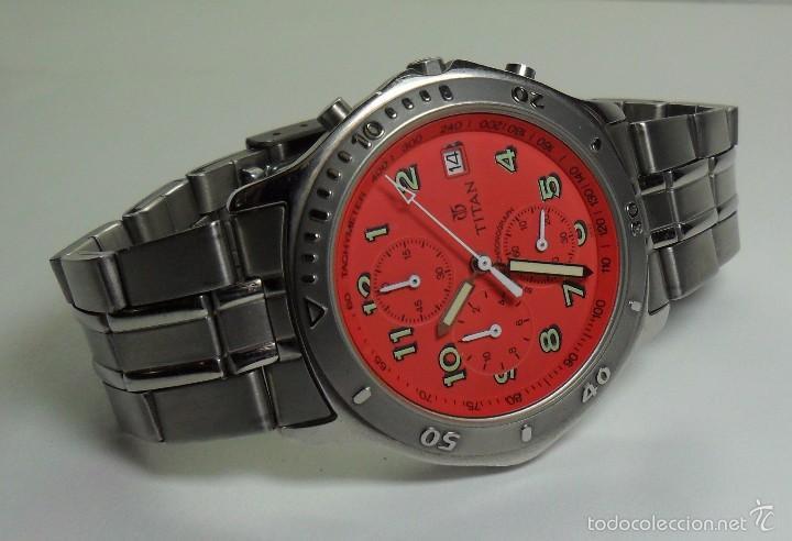 Relojes automáticos: Reloj TITAN de cuarzo - Modelo numerado - Cronógrafo - Taquímetro - Foto 5 - 57541649