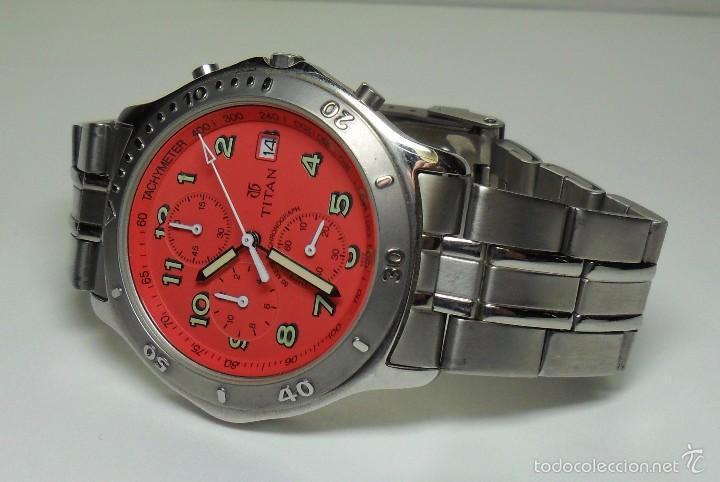 Relojes automáticos: Reloj TITAN de cuarzo - Modelo numerado - Cronógrafo - Taquímetro - Foto 6 - 57541649
