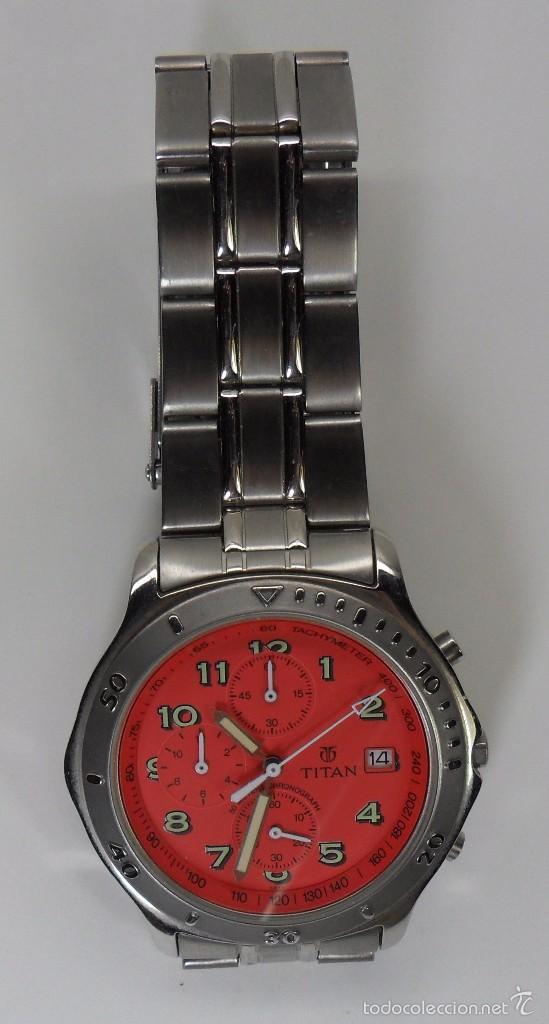 Relojes automáticos: Reloj TITAN de cuarzo - Modelo numerado - Cronógrafo - Taquímetro - Foto 7 - 57541649