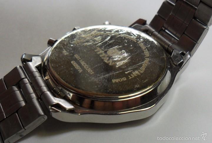 Relojes automáticos: Reloj TITAN de cuarzo - Modelo numerado - Cronógrafo - Taquímetro - Foto 8 - 57541649