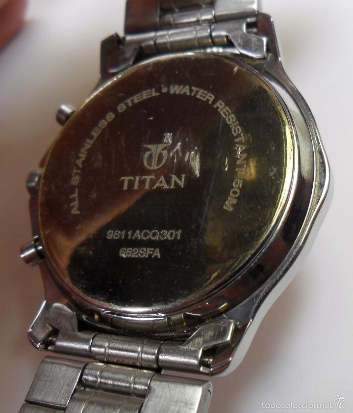 Relojes automáticos: Reloj TITAN de cuarzo - Modelo numerado - Cronógrafo - Taquímetro - Foto 9 - 57541649