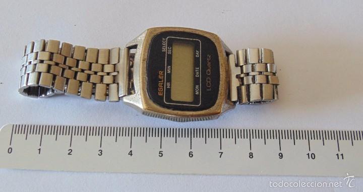 RELOJ DE PULSERA DIGITAL EGALER. 1970-1980. VINTAGE (Relojes - Relojes Automáticos)