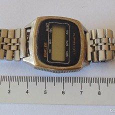 Relojes automáticos: RELOJ DE PULSERA DIGITAL EGALER. 1970-1980. VINTAGE. Lote 57683246