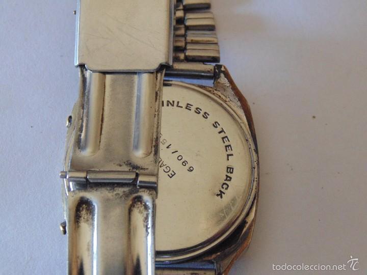 Relojes automáticos: Reloj de pulsera digital Egaler. 1970-1980. Vintage - Foto 2 - 57683246