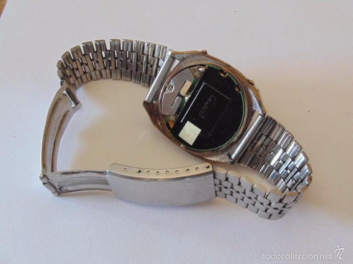 Relojes automáticos: Reloj de pulsera digital Egaler. 1970-1980. Vintage - Foto 3 - 57683246