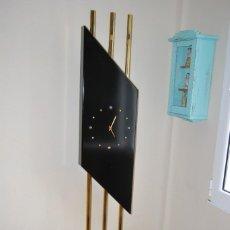 Relojes automáticos: ORIGINAL RELOJ DE PIE - MADERA Y METAL - DISEÑO AÑOS 80 - ESTILO ART DÉCO - 188 CM. Lote 57791650