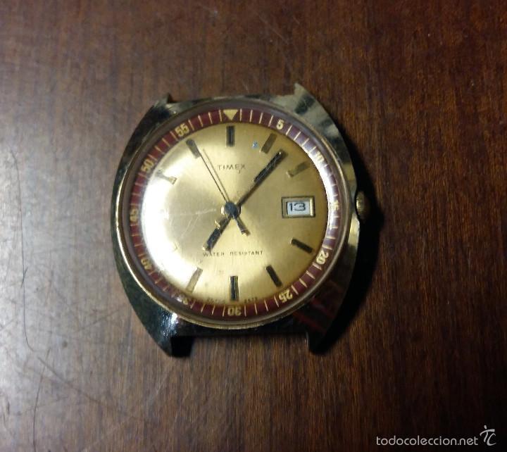 RELOJ DE PULSERA AUTOMATICO TIMEX, FUNCIONA (Relojes - Relojes Automáticos)