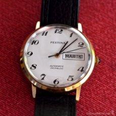 Relojes automáticos: ESPECIAL COLECCIONISTAS: RELOJ DE PULSERA AUTOMÁTICO FESTINA , SUPERVINTAGE, SUPERELEGANTE. Lote 58070972