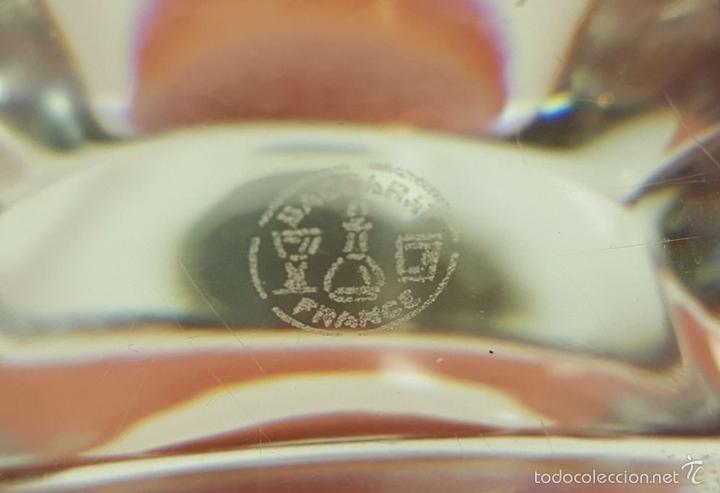 Relojes automáticos: RE383. RELOJ MARCA BACCARAT. BASE EN CRISTAL DE BACCARAT. FRANCE. SIGLO XX. - Foto 6 - 58149534