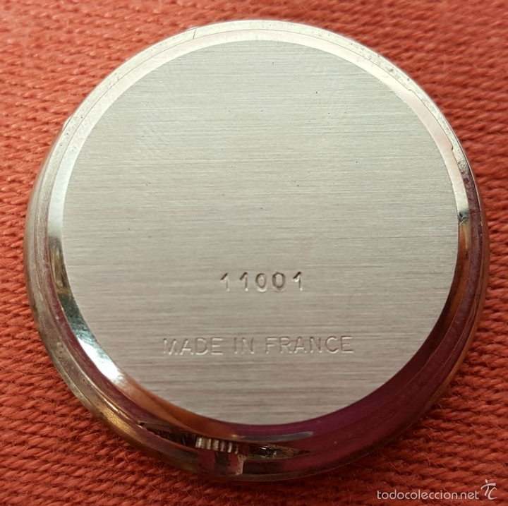 Relojes automáticos: RE383. RELOJ MARCA BACCARAT. BASE EN CRISTAL DE BACCARAT. FRANCE. SIGLO XX. - Foto 7 - 58149534