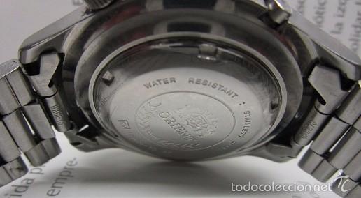 Relojes automáticos: ANTIGUO reloj ORIENT SK 21 JEWELS AUTOMATICO TRES TORNILLOS CAJA GRANDE 42mm HOMBRE VINTAGE - Foto 3 - 58304103