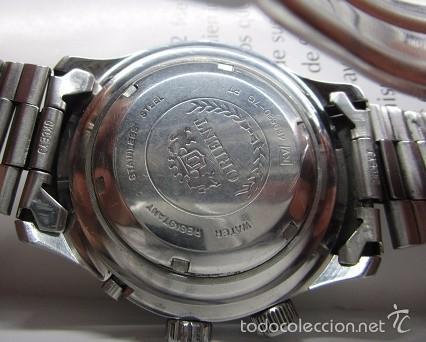 Relojes automáticos: ANTIGUO reloj ORIENT SK 21 JEWELS AUTOMATICO TRES TORNILLOS CAJA GRANDE 42mm HOMBRE VINTAGE - Foto 5 - 58304103