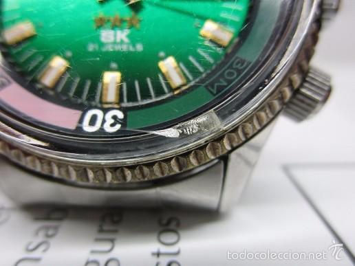 Relojes automáticos: ANTIGUO reloj ORIENT SK 21 JEWELS AUTOMATICO TRES TORNILLOS CAJA GRANDE 42mm HOMBRE VINTAGE - Foto 8 - 58304103