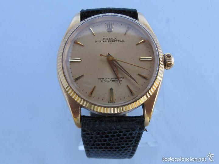 Montre 1964 Vintage Gold Reloj Rolex Subasta Watch 18k Vendido En Yb6gf7yvI
