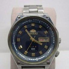Relojes automáticos: RELOJ ANTIGUO HOMBRE ORIENT SK TRES TORNILLOS TABLERO 4 PUNTOS CAJA GRANDE RARO ESCASO VINTAGE WU. Lote 58676393