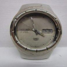 Relojes automáticos: RELOJ SEIKO 5 AUTOMATICO ANTIGUO HOMBRE 37MM RARO ESCASO VINTAGE WU. Lote 58811126