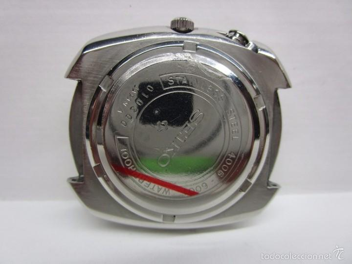 Relojes automáticos: ANTIGUO RELOJ SEIKO BELL MATIC ALARMA AUTOMATICO DE COLECCION PARA HOMBRE VINTAGE - Foto 5 - 59445305
