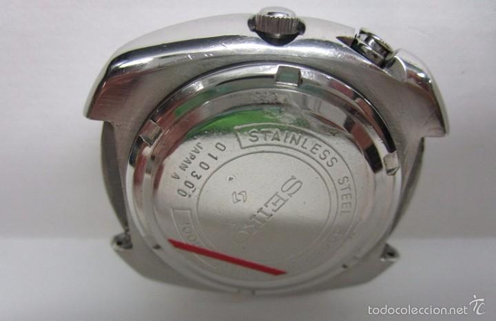 Relojes automáticos: ANTIGUO RELOJ SEIKO BELL MATIC ALARMA AUTOMATICO DE COLECCION PARA HOMBRE VINTAGE - Foto 6 - 59445305
