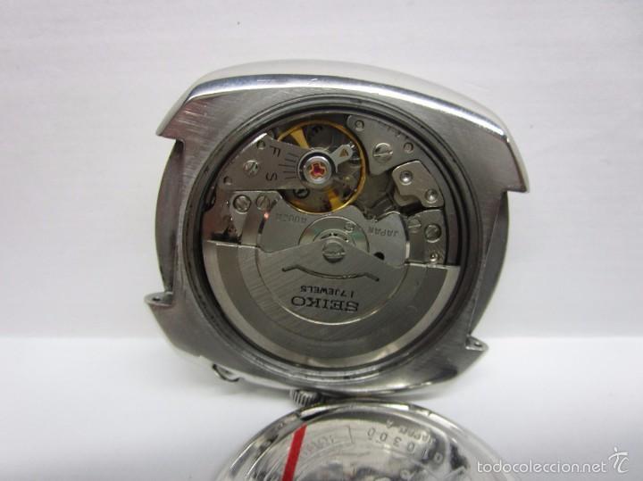 Relojes automáticos: ANTIGUO RELOJ SEIKO BELL MATIC ALARMA AUTOMATICO DE COLECCION PARA HOMBRE VINTAGE - Foto 8 - 59445305