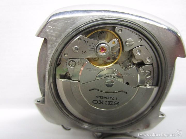 Relojes automáticos: ANTIGUO RELOJ SEIKO BELL MATIC ALARMA AUTOMATICO DE COLECCION PARA HOMBRE VINTAGE - Foto 9 - 59445305