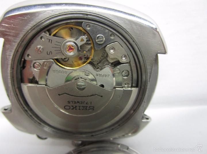 Relojes automáticos: ANTIGUO RELOJ SEIKO BELL MATIC ALARMA AUTOMATICO DE COLECCION PARA HOMBRE VINTAGE - Foto 10 - 59445305