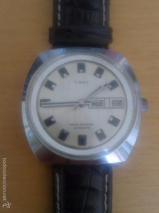 RELOJ AUTOMÁTICO TIMEX (Relojes - Relojes Automáticos)