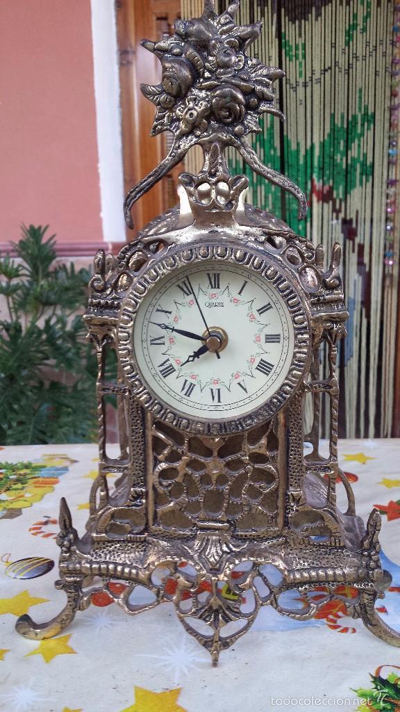 ANTIGUO RELOJ DE BRONCE, (Relojes - Relojes Automáticos)