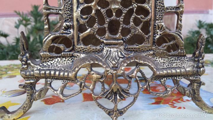Relojes automáticos: antiguo reloj de bronce, - Foto 2 - 59716363