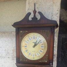 Relojes automáticos: RELOJ DE PARED DOGMA. CON SONERIA, FUNCIONA. Lote 60060827