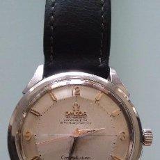Relojes automáticos: ELEGANTE RELOJ OMEGA PIE PAN CONSTELLATION AUTOMATIC CHRONOMETER, AÑO 55, CAJA ACERO,. Lote 60114227