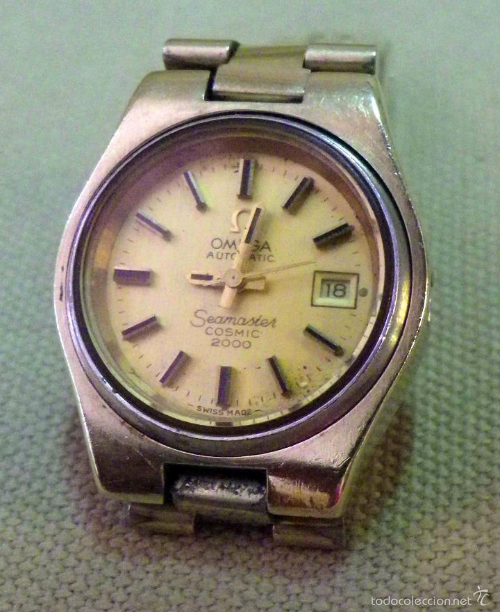 Reloj omega seamaster automatico de mujer
