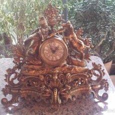 Relojes automáticos: ANTIGUO RELOJ DE BRONCE,. Lote 60617575