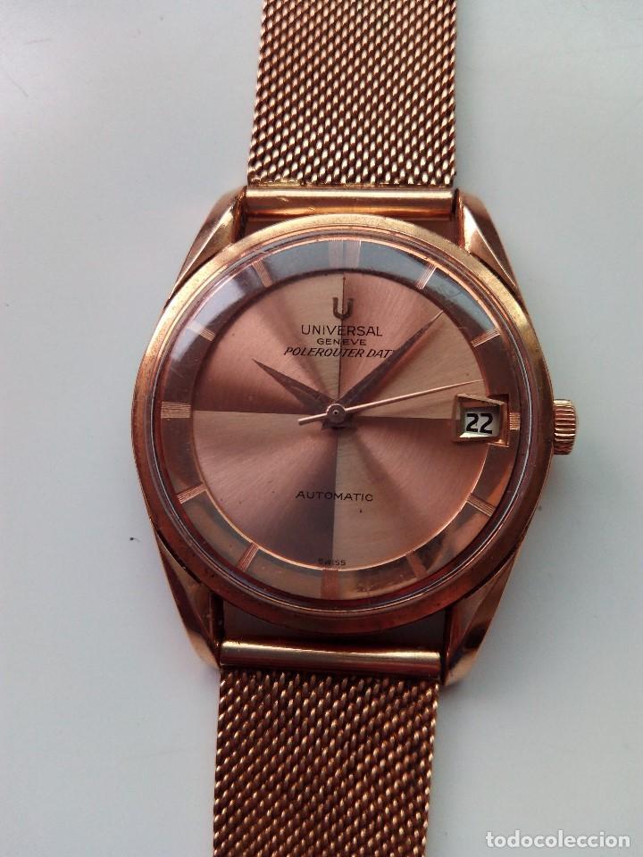 Relojes automáticos: Reloj de oro rosa de 18 kilates, de la marca Geneve automático. - Foto 2 - 61867088