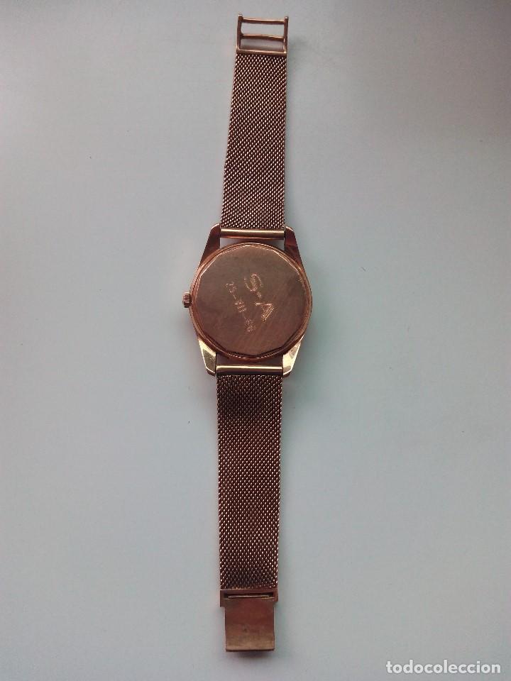 Relojes automáticos: Reloj de oro rosa de 18 kilates, de la marca Geneve automático. - Foto 3 - 61867088